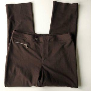 JNY Signature Brown Dress Pants Size 8